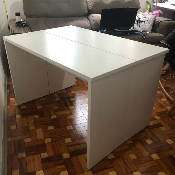 Mesa ou aparador branca tok & stok