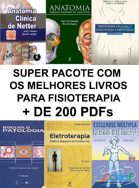 Pacote + de 200 livros de fisioterapia   pdf   pt br