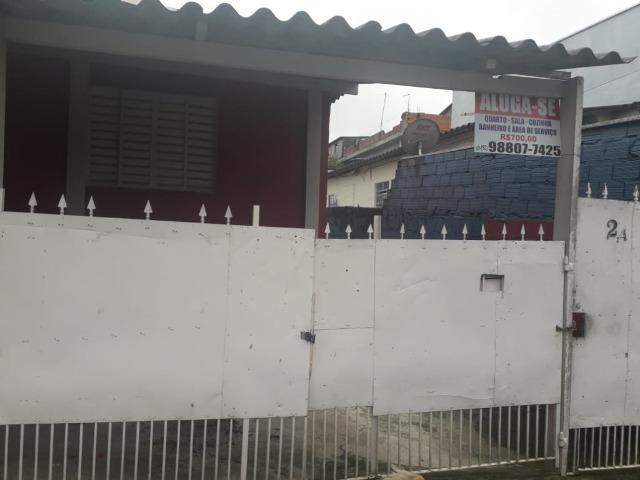 Casa comendador santana 3 comodos, banheiro e área de