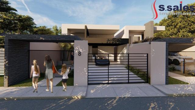 Casa nova! lindo imóvel com 3 suítes e area de lazer