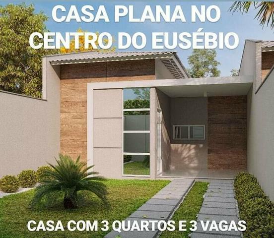 Casas em rua privativa no centro do eusébio lançamento 3