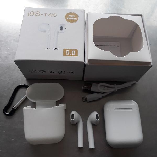Fone de ouvido sem fio bluetooth i9s tws airpods android/ios