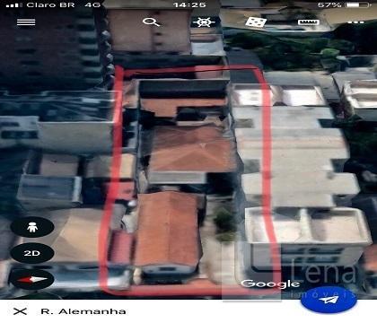 Terreno à venda em parque das nacoes, santo andre cod:00947