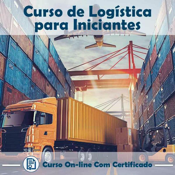 Curso online de logística para iniciantes com certificado