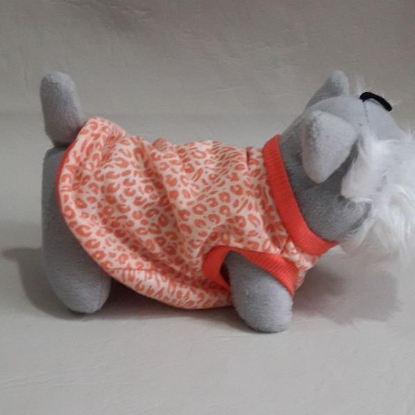 Pijama camiseta malha fininha pet criative crafts