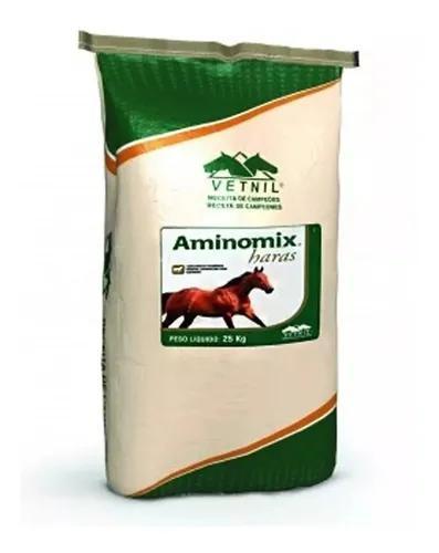 Aminomix haras 25kg- com frete grátis