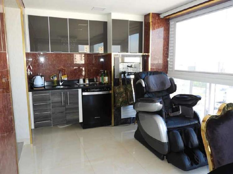Apartamento mobiliado a venda de 127m2 com 03 suítes no