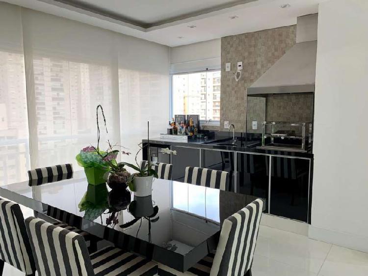 Apartamento mobiliado a venda de 89m2 com 02 suites e 02