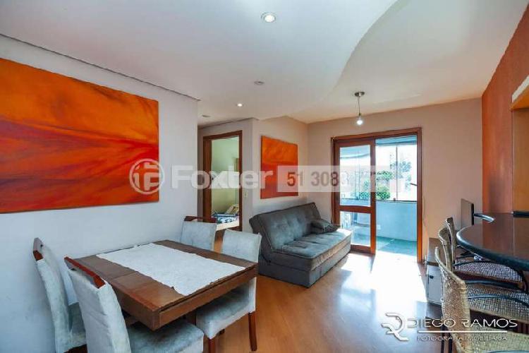 Apartamento para venda com 68 m² com 2 quartos e 1 vaga no