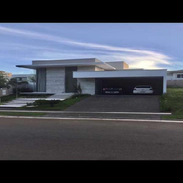 Casa terra, cond do lago, 3 suítes, 206 m2, terreno com