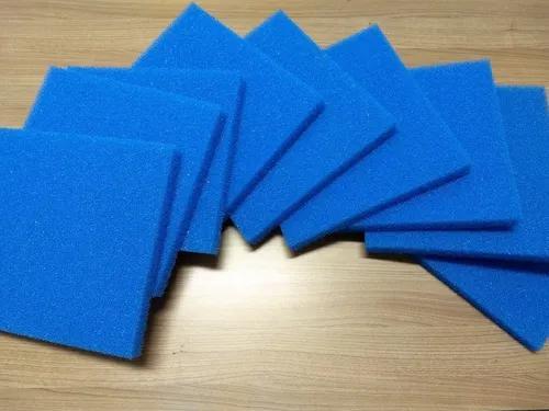 Espuma para aquários, lagos e tanques cor: azul 10 ppi