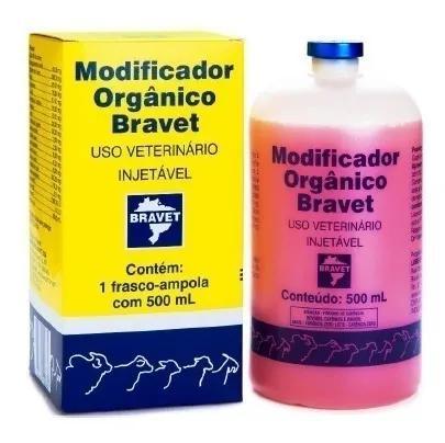 Kit c/ 3 modificador orgânico bravet 500ml
