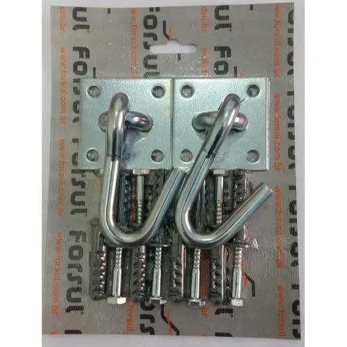 Kit gancho rede parafusar n-1 (2 ganchos e parafusos) forsul