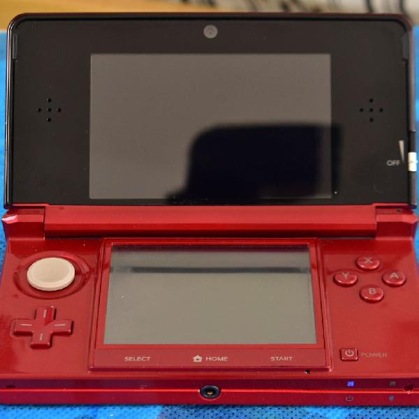 Nintendo 3ds - com defeito - leia a descrição