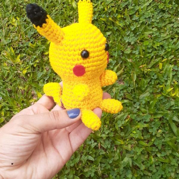 Pikachu Em Amigurumi