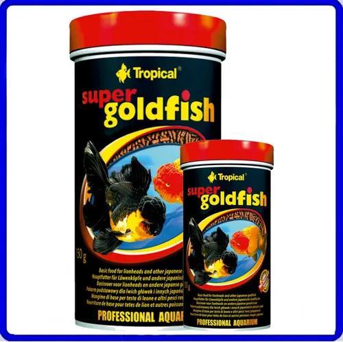 Ração tropical super goldfish mini sticks 150g p/ kinguios