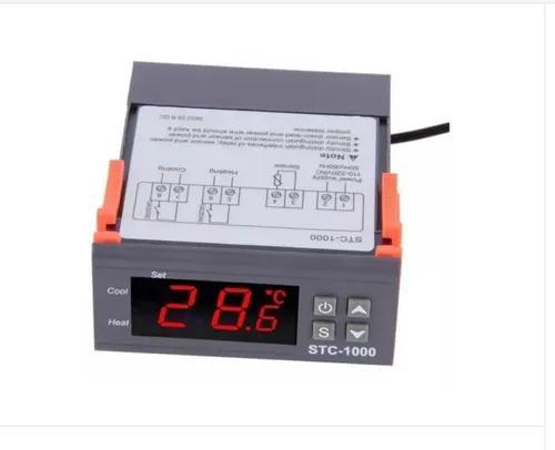 Termostato digital stc-1000 duplo (aquece resfria) 110v 220v