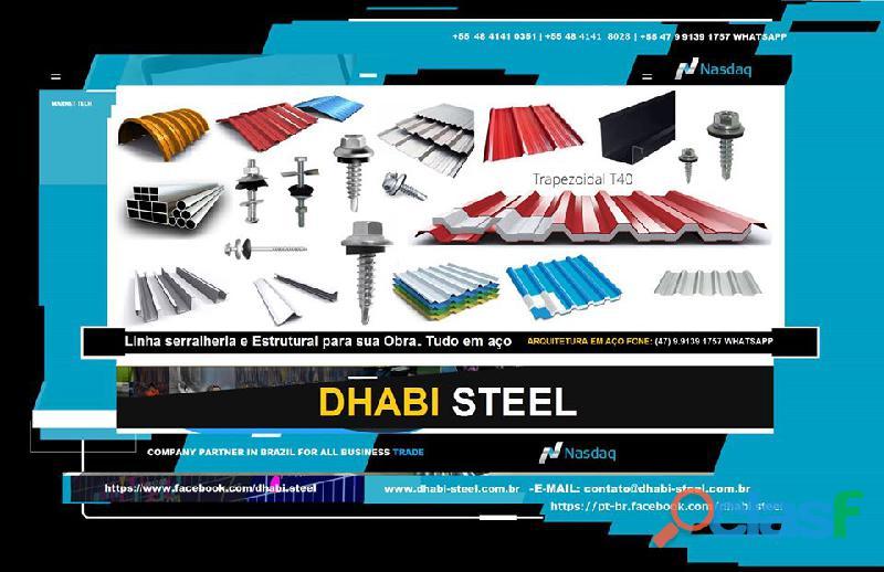 Ferro e aço para serralheria com dhabi steel