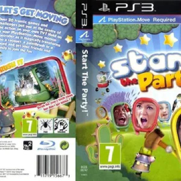 Jogo ps3 playstation move start the party