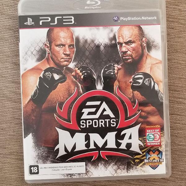 Jogo videogame ps3 mma ea sports