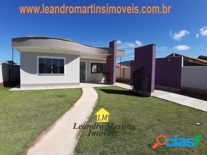 Linda casa em itaipuaçu com projeto diferenciado !! 3 quartos