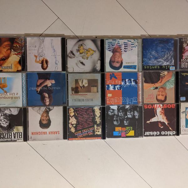18 cds de diferentes tipos musicais - lote 5