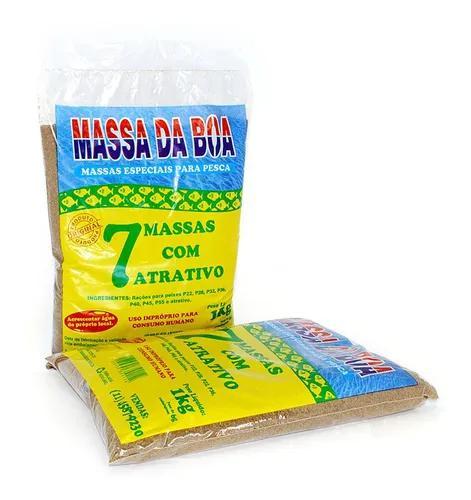 7 massas com atrativo feromônio 1kg massa da boa