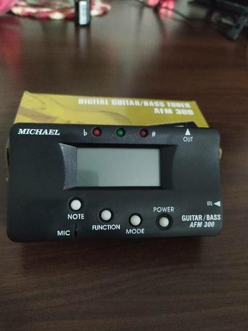 Afinador michael af 300 para instrumentos de cordas