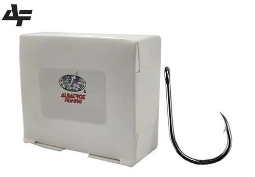 Anzol albatroz chinu black nº 10 - caixa c/ 100 peças