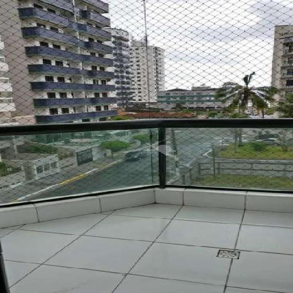 Apartamento com 2 dorms, ocian, praia grande - r$ 300 mil,
