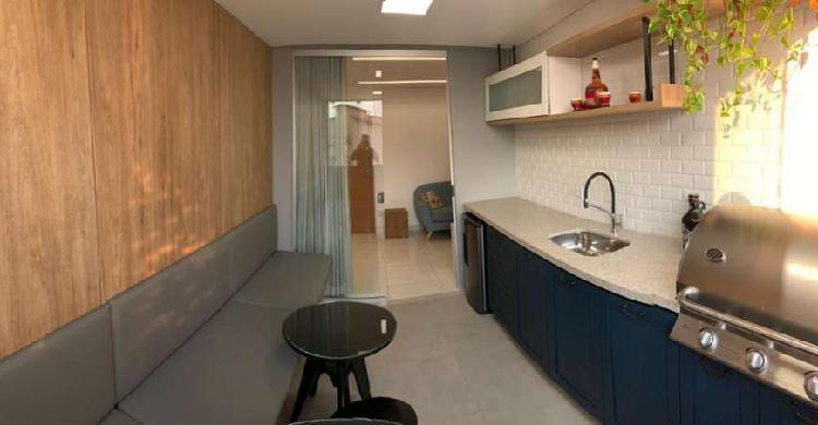 Apto para venda 2 quartos, com varanda gourmet no bairro