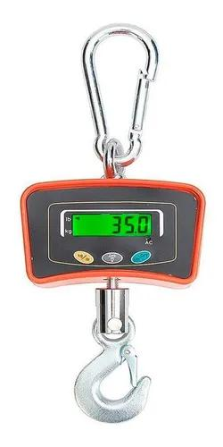 Balança digital 500 kg guindaste industrial lcd portátil