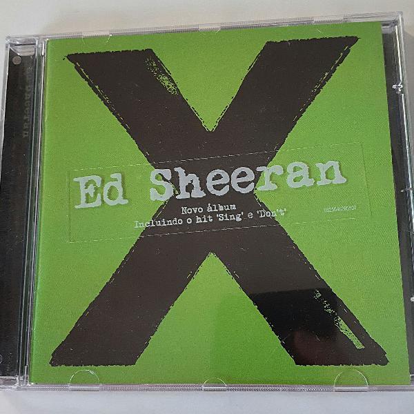 Cd ed sheeran - x