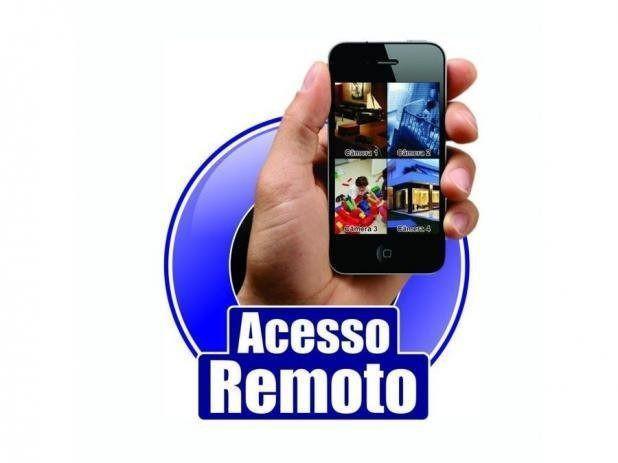 Cameras segurança kit dvr + acesso remoto via celular