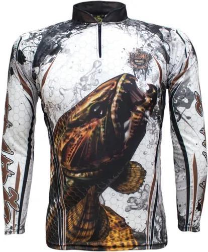 Camisa de pesca proteção solar uv king brasil trairão