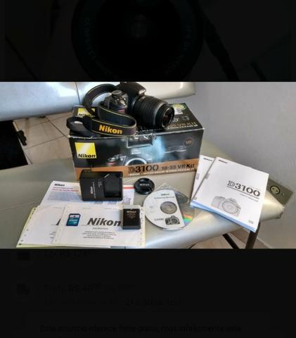 Câmera digital profissional nikon d3100