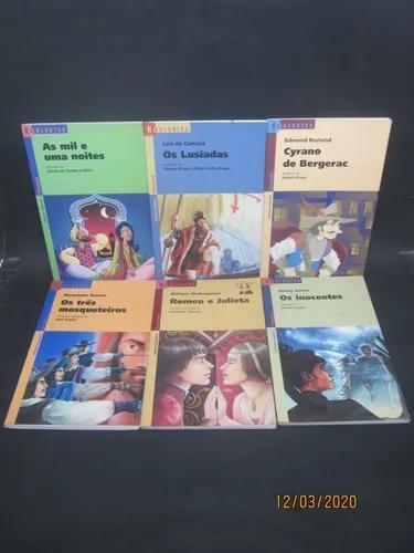 Coleção reencontro 22 livros a ilha do tesouro o conde