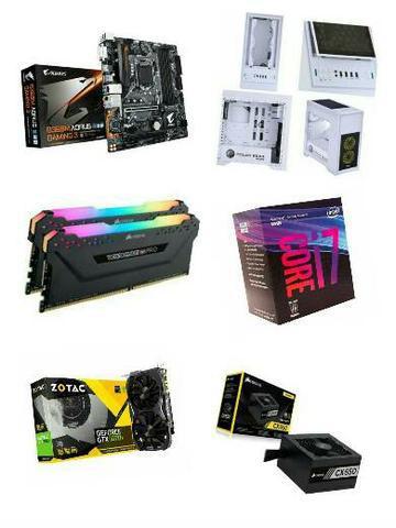 Computador gamer i7 8700 + 16gb