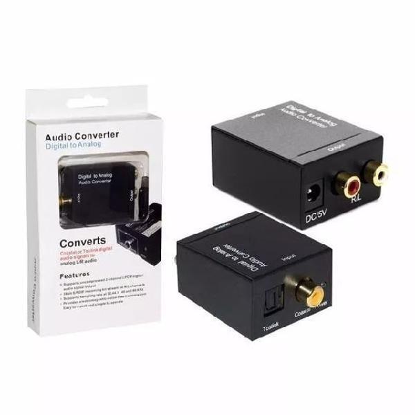 Conversor de áudio óptico digital para analógico