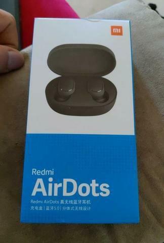 Fone xiaomi original redmi airdots bluetooth 5.0