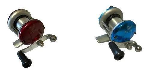 Kit 2 mini carretilhas xingu pescaria leve até 3,00 kg