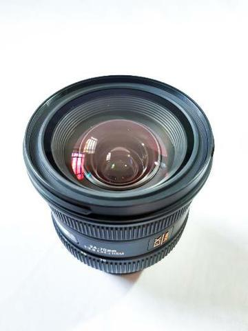Lente sigma 24-70mm f/2.8 dg hsm para canon,