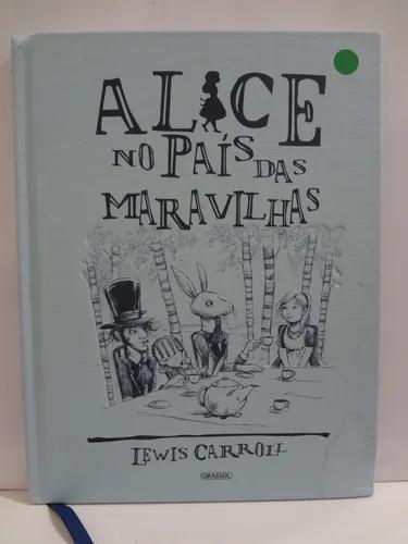 Livro alice no país das maravilhas lewis carroll robert