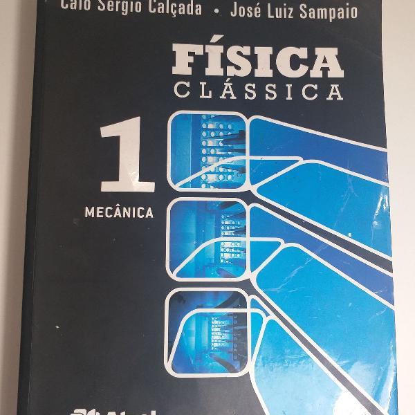 Livro física clássica 1 - editora atual - caio sérgio