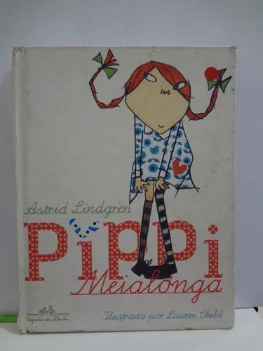 Livro pippi meialonga- edição de luxo astrid lindgren