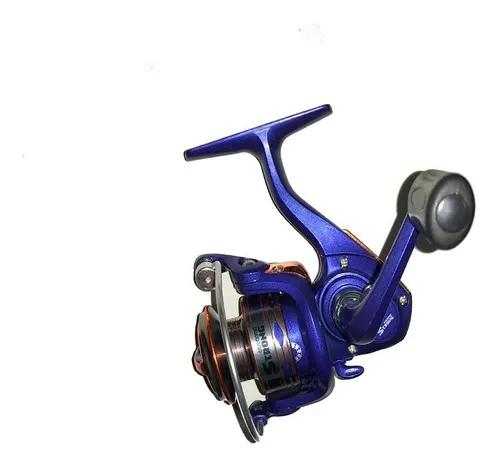 Mini molinete xingu pesca leve ultra light 3 rolamentos top