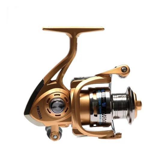 Molinete pesca fb3000 10 rolamentos reforçado