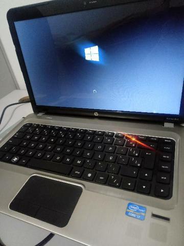 Notebook hp dm4 intel core i7 c/ placa de vídeo