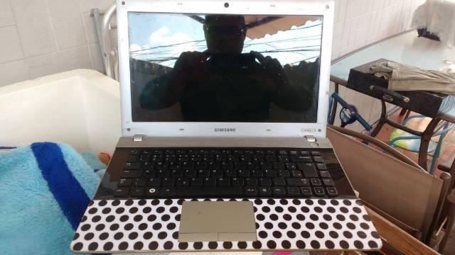 Notebook samsung defeito