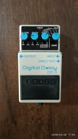 Pedal de guitarra boss dd 3 digital delay